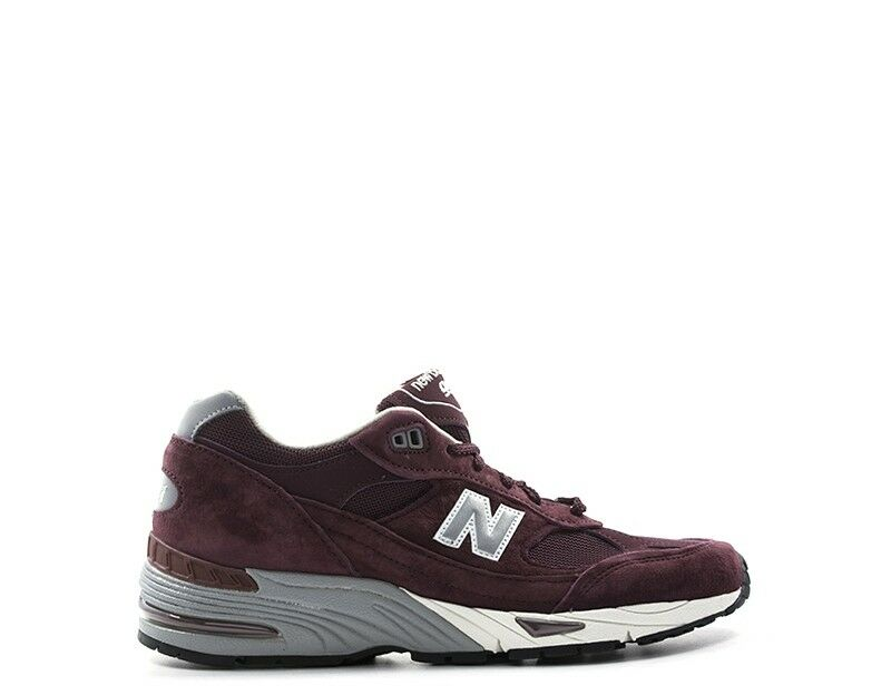 Zapatos NEW BALANCE Hombre BORDEAUX Gamuza,Tela M991EBS
