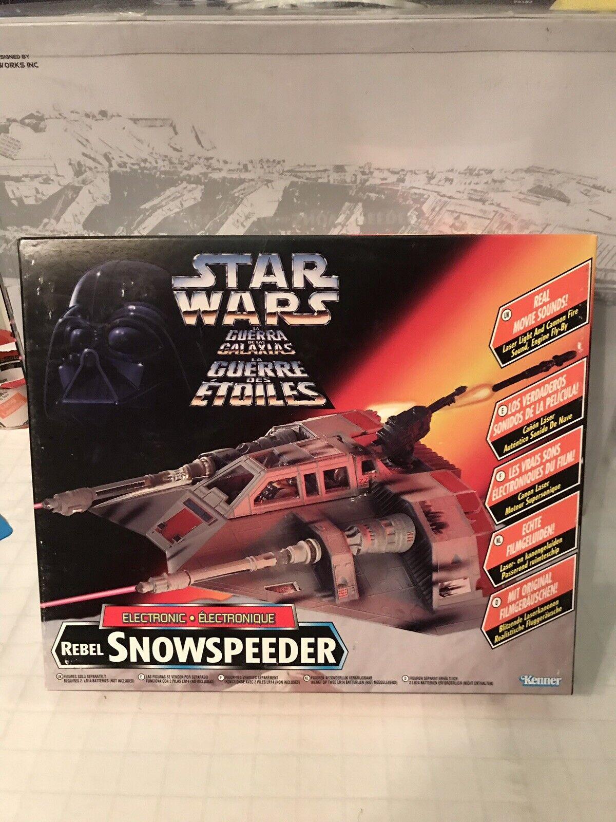 Star Wars The Power Of The Force Tri-Logo Snowspeeder