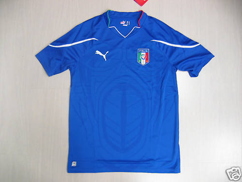 0746 TG L ITALIEN ITALY T-SHIRT WETTSPIEL 2010 ERSTE JERSEY TRIKOT TRIKOT