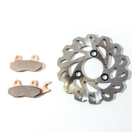 LTR 450  Stainless Brake Disc Rotor and Pads  Front Left  Alba Racing    277 165