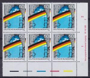 Federal Mi Núm 1481 I En 6er Bloque Con Dv Correo, 1990 ,Perfecto Estado, MNH