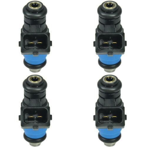 4 New Genuine Siemens Deka Fuel Injector 60lb 630cc 60# short pico 34mm