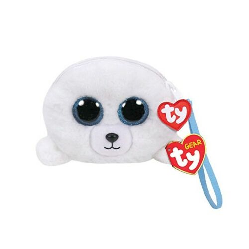 Ty Beanie Babies 95209 Ty Gear Icy the Seal Boo Wristlet