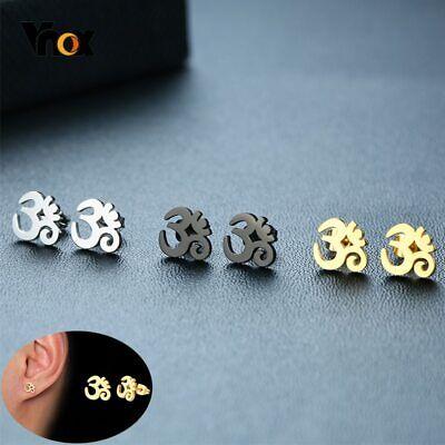 Small Modern Circle Earrings Geometric Earrings Mixed Metal Merkaba Earrings