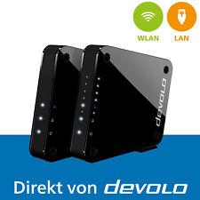 devolo GigaGate WLAN Starter Kit WLAN Bridge 2 Gbit/s Verbindung WiFi Booster
