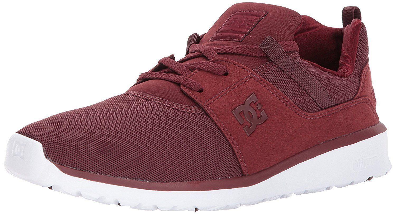 DC HEATHROW Schuhe LOW SKATE SNEAKERS MEN Schuhe HEATHROW BURNT/HENNA ADYS700071 SIZE 10 NEW c96b48