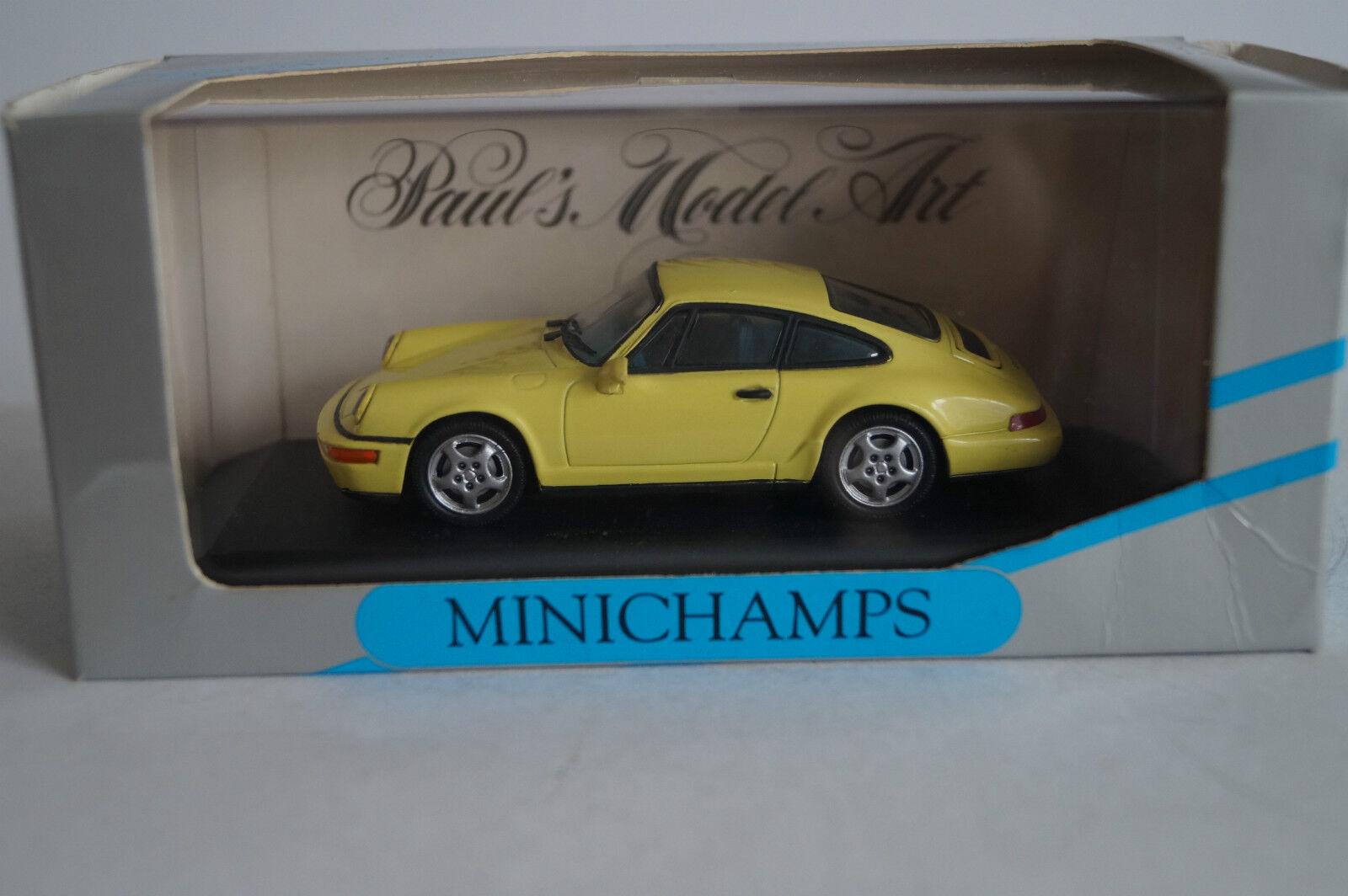 Minichamps voiture miniature 1 43 porsche 911 Carrera 2 4 1992 Nº 062120