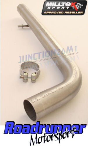 AUDI A3 1.9 TDI EXHAUST MILLTEK NON RESONATED CENTRE SECTION LOUDER MSVW167REP