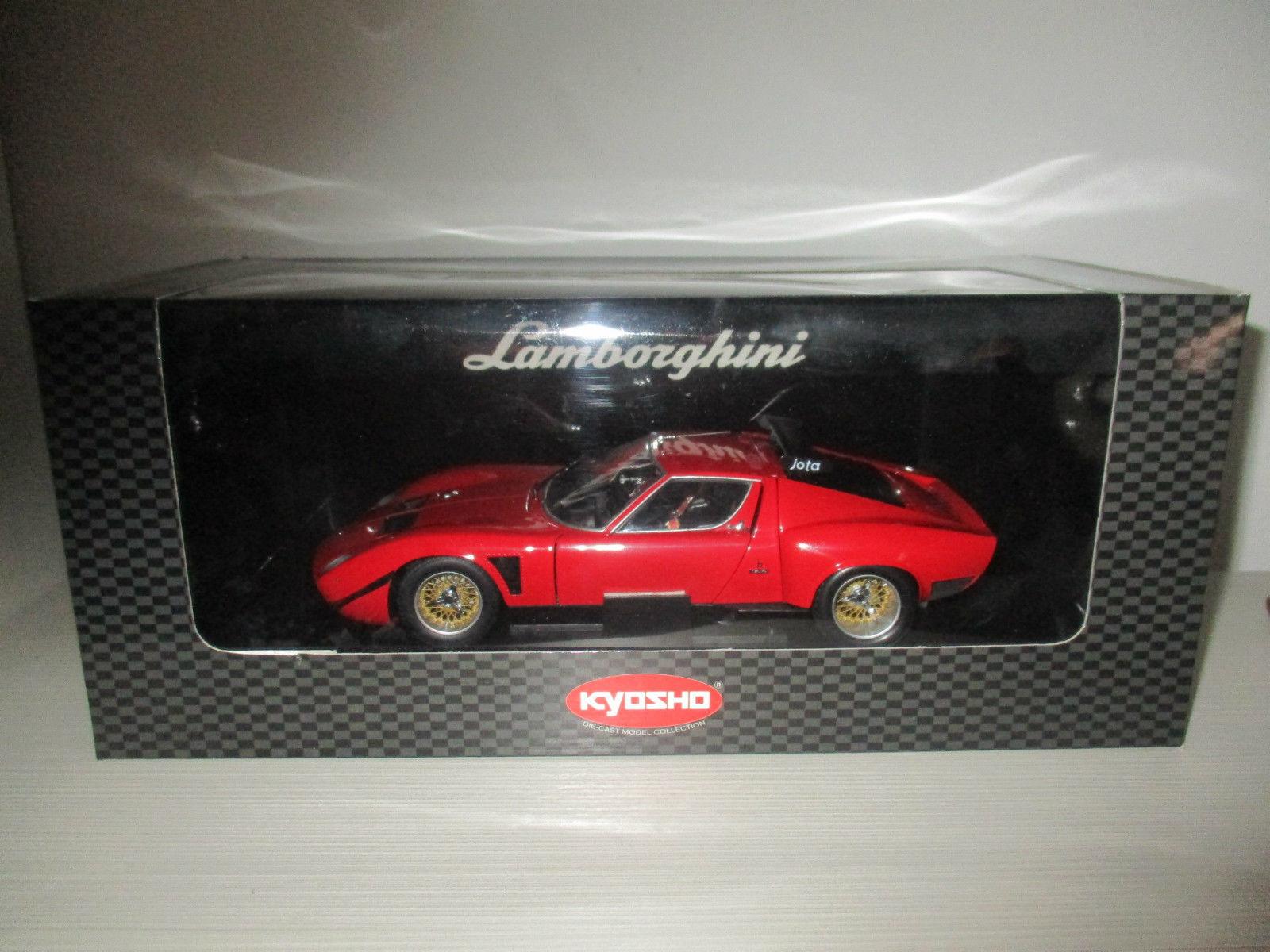 Lamborghini Jota SVR rouge Kyosho 1 18 No. 08311R