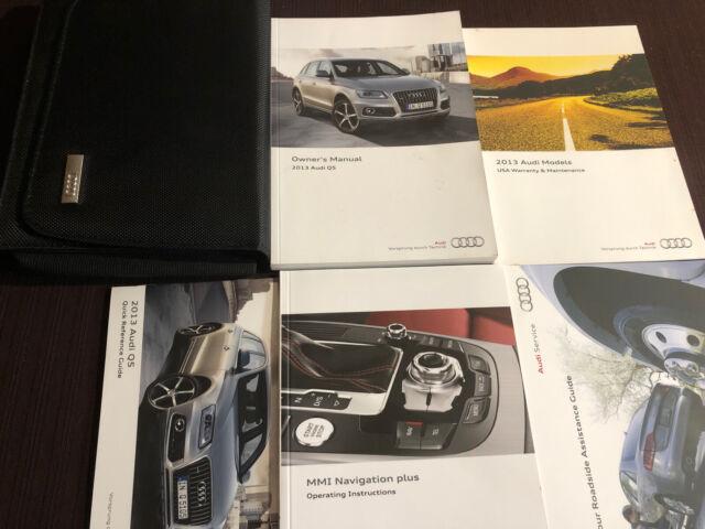 2013 Audi Q5 Owners Manual