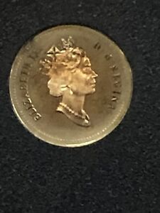 1997 CANADA 10 CENTS PROOF SILVER DIME HEAVY CAMEO COIN