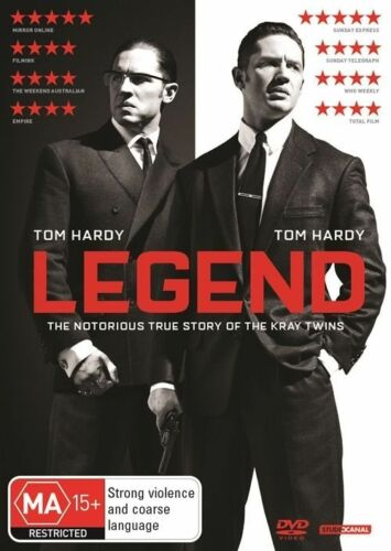 1 of 1 - Legend (DVD, 2016) : NEW : Tom Hardy