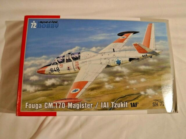 Special Hobby 1//72 Fouga CM.170 Magister//IAI Tzukit /'IAF/' # 72375