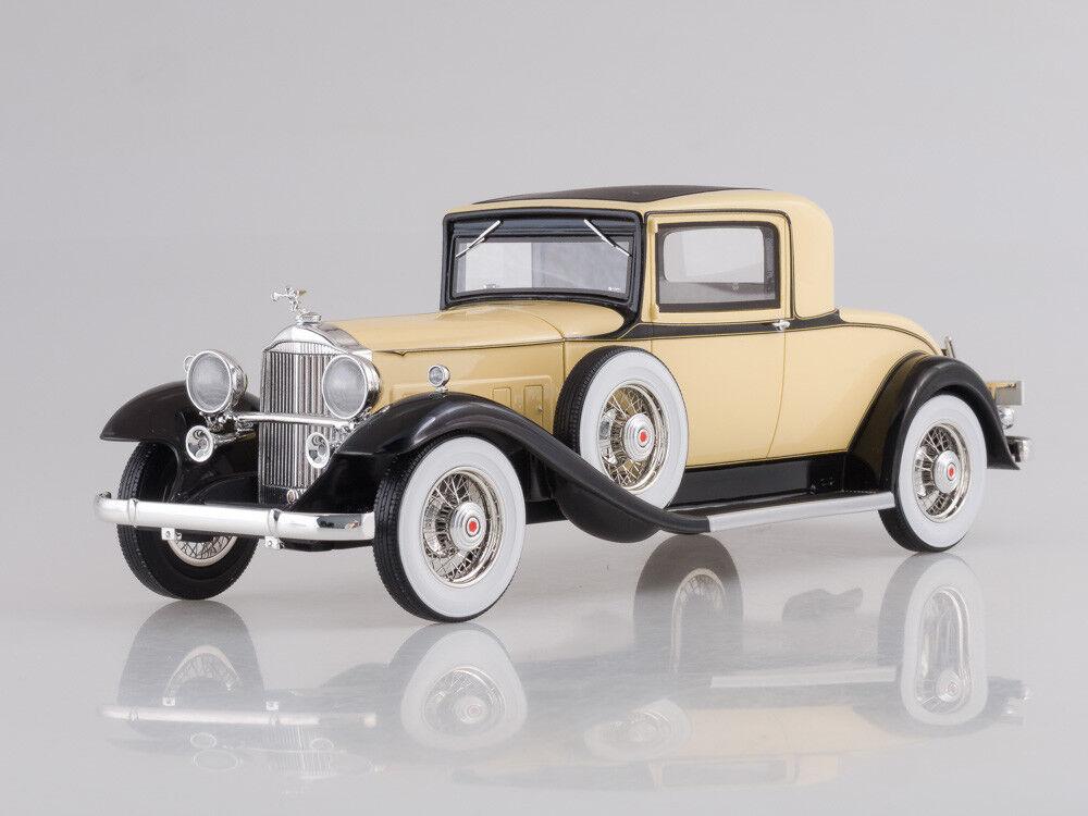 Escala modelo 1:18 Packard 902 estándar ocho Coupe, Azul ClaroNegro, 1932