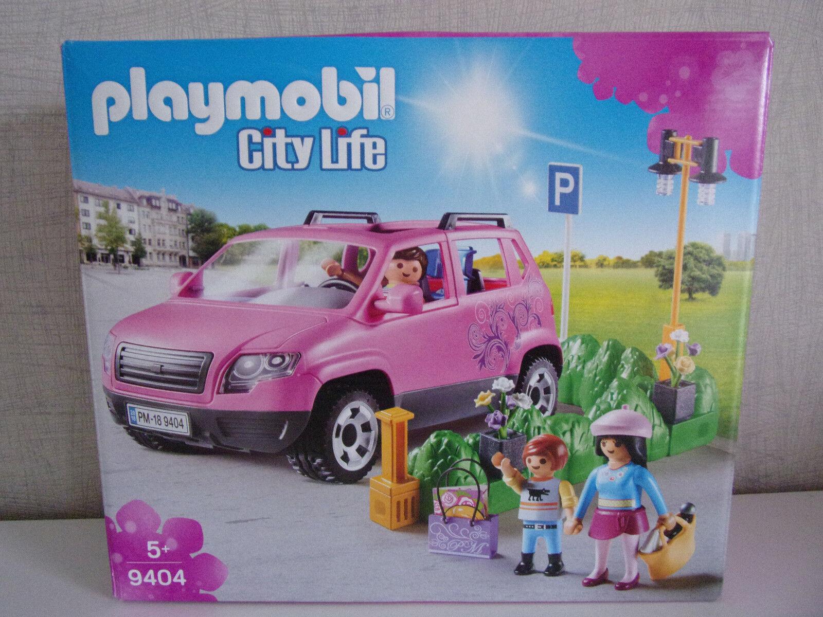 Playmobil City Life 9404 Familien-Pkw avec Parkbucht - Neuf et Emballage