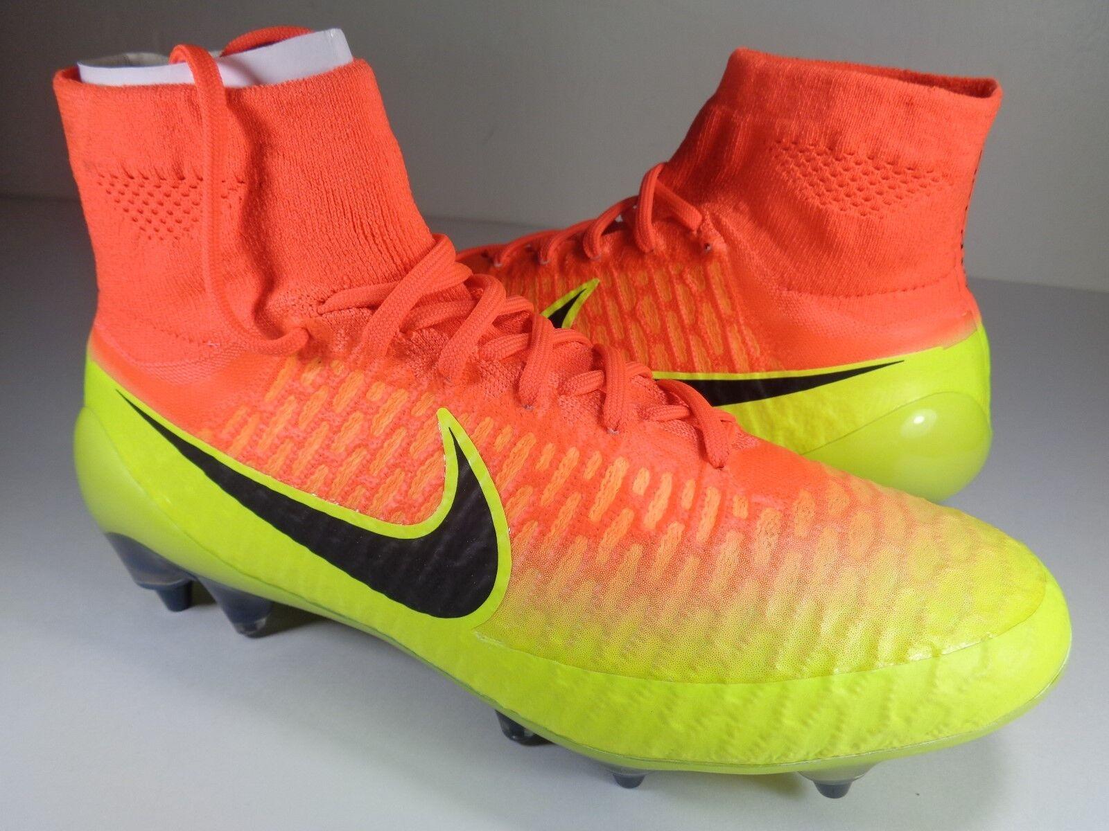 Nike Magista Obra SG-PRO FG Soccer Cleats 7.5 Crimson noir Volt SZ 7.5 Cleats (641325-807) 8958ad