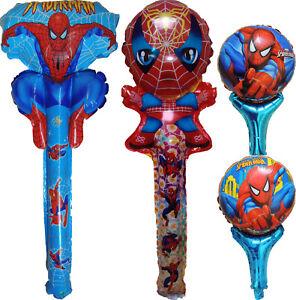 SUPERMAN SUPERHERO BALLOON BIRTHDAY PARTY BAG GIFT CENTERPIECE DECORATION FAVOR