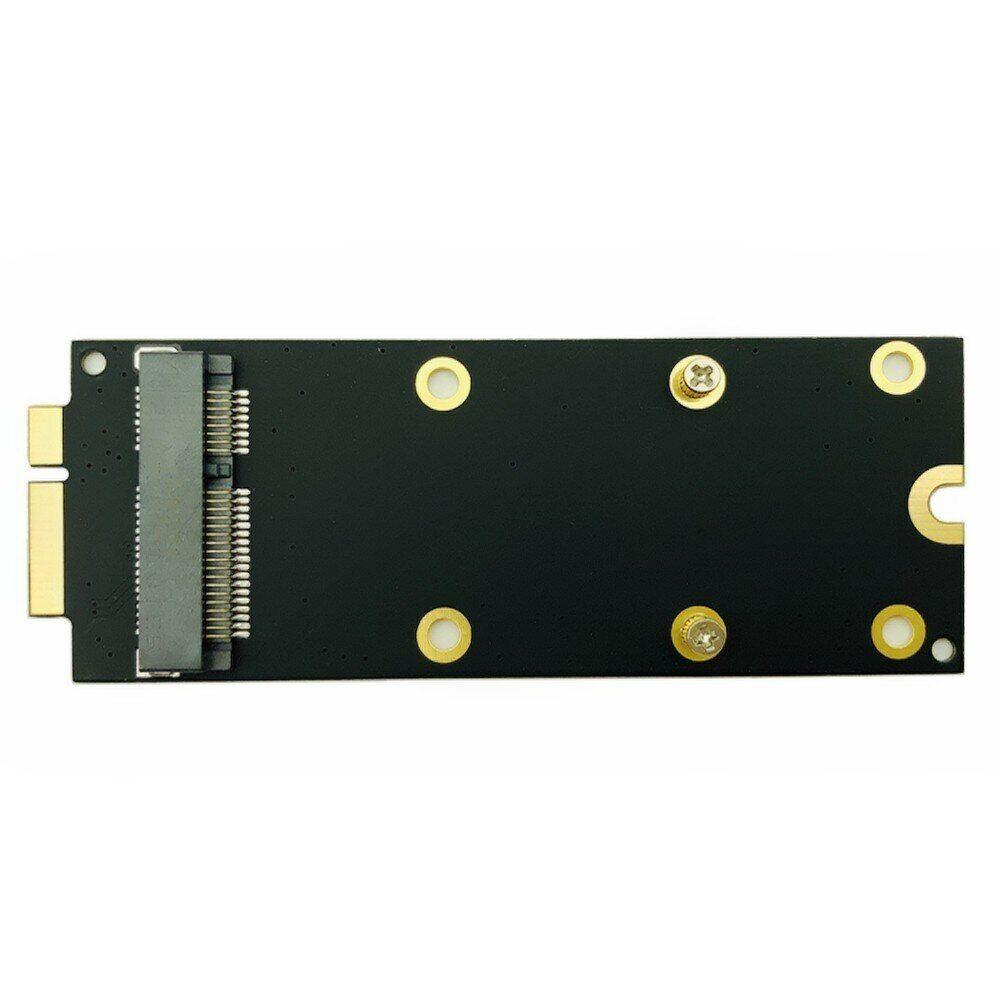 MacBook Pro A1398 A1425 MC975 ME662 mSATA SSD to SATA 17+7 Pin Adapter Card 2012