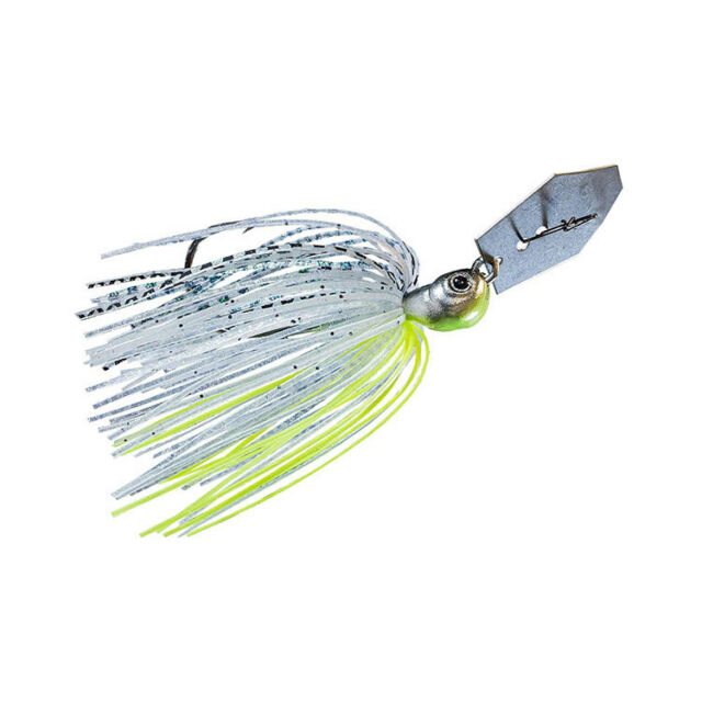5190d8de2d395 Z-Man Jack Hammer Chatterbait 1 2 Ounce Green Shad for sale online ...
