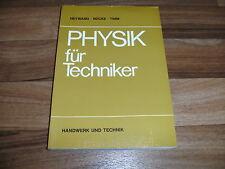 Heywang-Nücke-Timm -- PHYSIK für TECHNIKER / Versuche+Aufgabenbeispiele