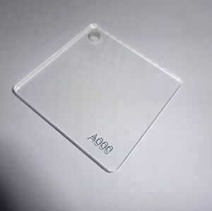 3mm Clear Acrylic Sheet A3 420 X 297 Perspex Safety Glazing Frame