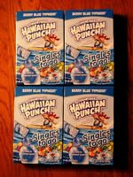 4 Hawaiian Punch Berry Blue Typhoon Singles To Go Boxes / 8 Packet -box/32 Packs
