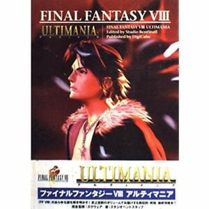FINAL-FANTASY-VIII-8-ULTIMANIA-Strategy-Guide-Book-Playstation-1999