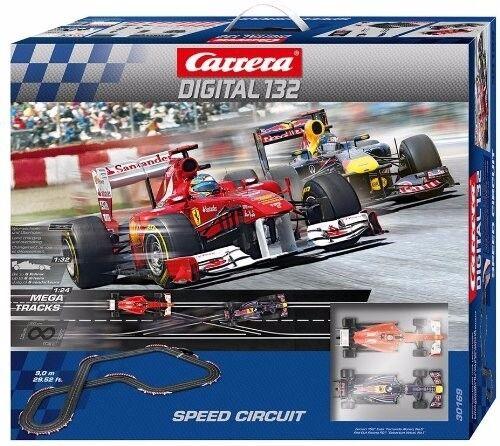 Carrera Digital 132 Speed Circuit - Formula One Set neu + unbenutzt - Carrera