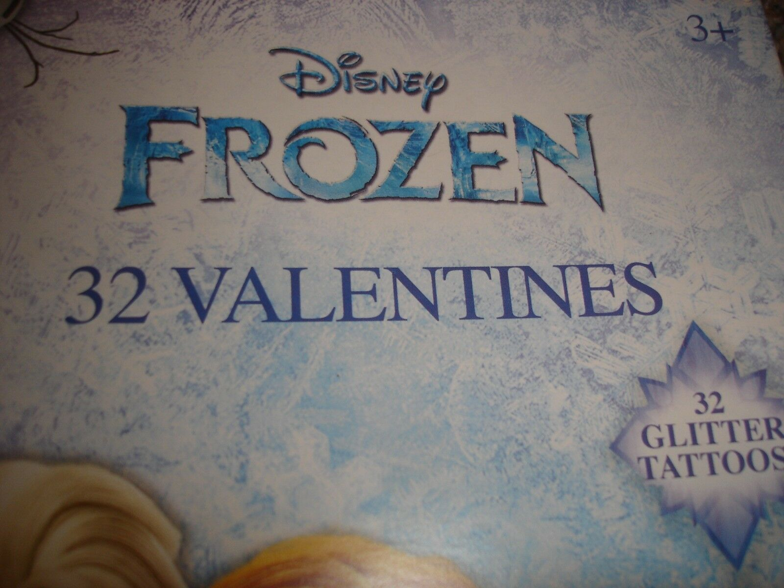 Disney Moana Classroom Exchange Valentines with Glittler Tattoo Bracelet ~ 32 count Paper Magic Group