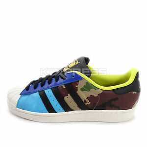Adidas Superstar Camo Blue
