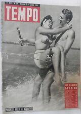 TEMPO 7 14 Luglio  1951 Guerra di Corea Garibaldi Montevideo Russell Ferrari di