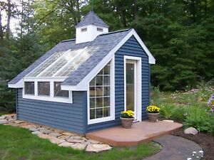 Details About Greenhouse Garden Shed 10 X 12 Building Plans Materials List Included