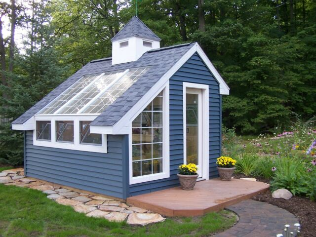 Palram Garden Chalet 10 Feet X 12 Feet Greenhouse For Sale Online
