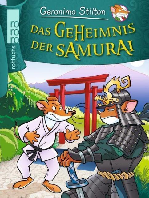 Das Geheimnis der Samurai  Geronimo Stilton Bd.35 von Geronimo Stilton UNGELESEN