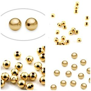 GOLD-FILLED-ROUND-SEAMLESS-BRIGHT-14K-YELLOW-BEADS-2-5-7mm-Made-in-USA