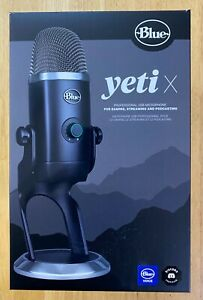 Blue Yeti X Professional USB Microphone for Gaming, Streaming and Podcasting
