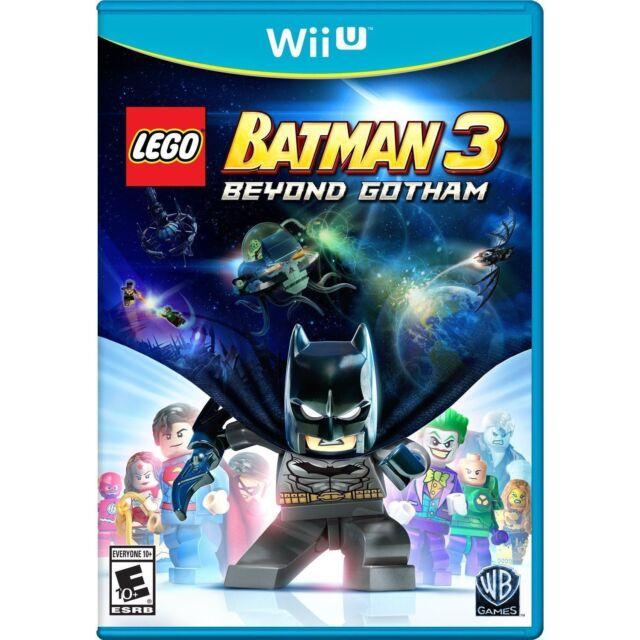 LEGO Batman 3: Beyond Gotham (Nintendo Wii U, 2014) NEW