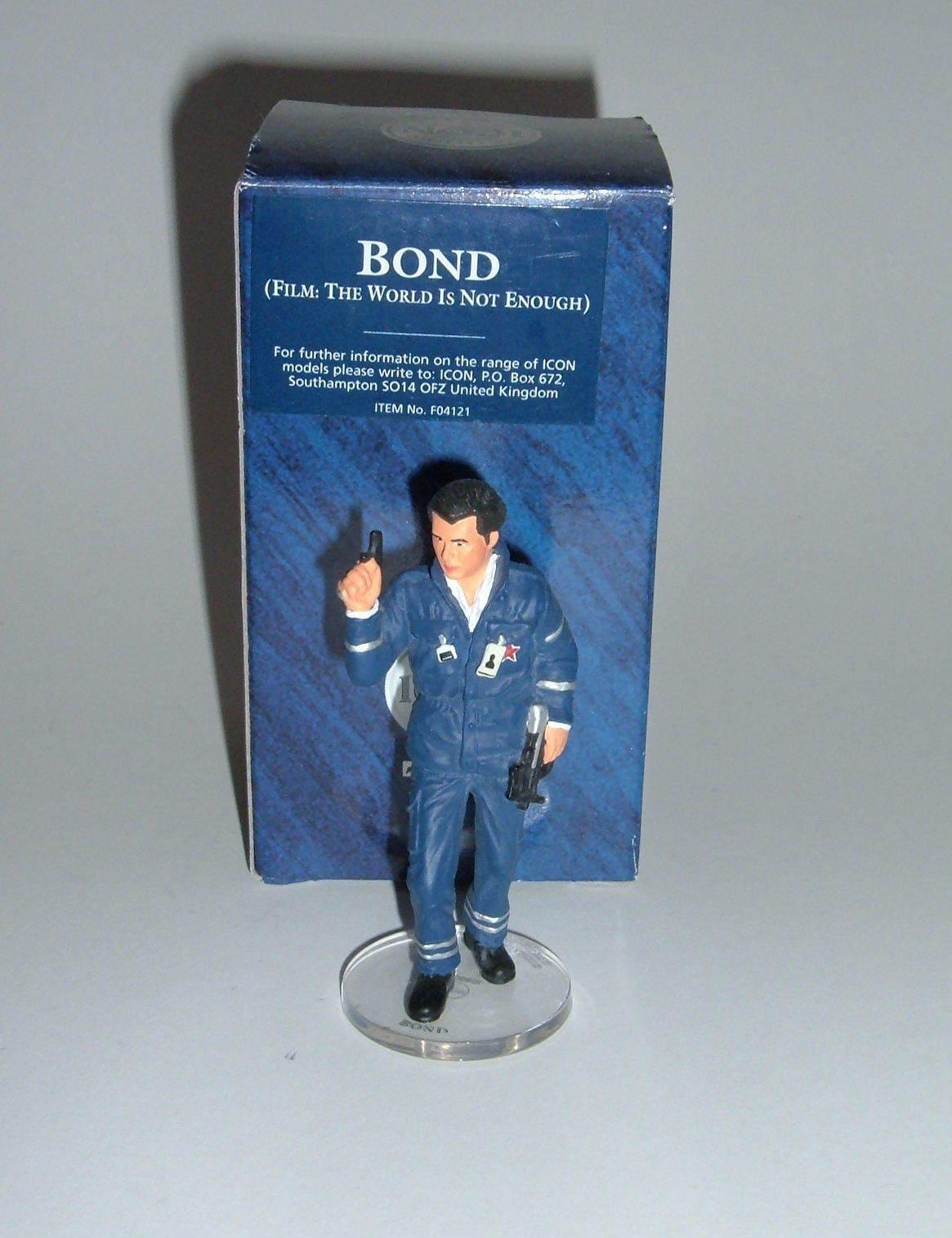 Corgi Icon No. F04121, James Bond Collection - James Bond Figure, - Superb.