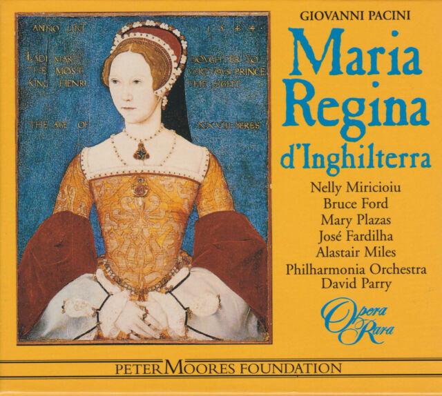 PACINI: MARIA REGINA D'INGHILTERRA Miricioiu, Ford, Plazas, Parry 3 CDs sehr gut