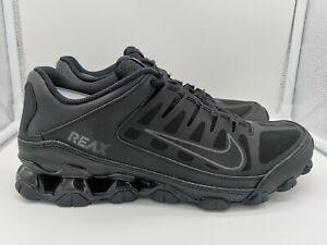 Nike Reax 8 TR Mesh UK 9 Black Anthracite 621716-001  cae3da0f1