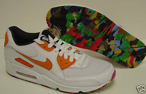 NEW Mens Sz 7.5 NIKE Air Max 90 Doernbecher 359420 181 Sneakers shoes
