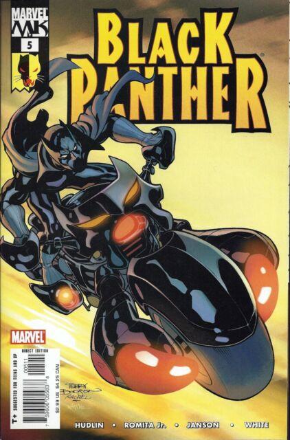 BLACK PANTHER  #5  Aug 05
