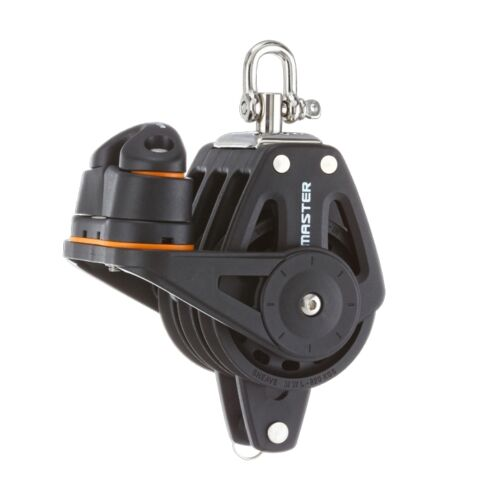 60mm Triple Swivel Shackle Becket Fairlead Cleat Block Master BP-0613F