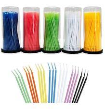 400 Microbrush Micro Brush Applicator Tips Regular Fine Super Fine Dental