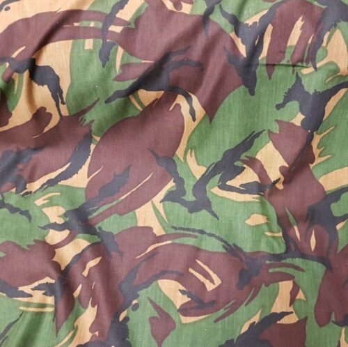 Material Non-Ripstop New British Army Tropical Disruptive Pattern Mode DPM