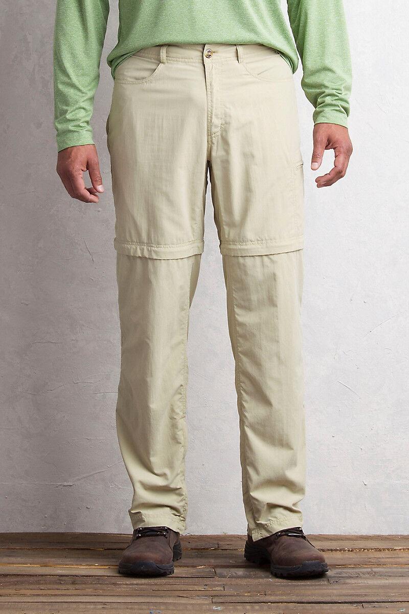 Men's BugsAway Sol Cool Ampario Congreenible Pant Size 40-42 Light Khaki