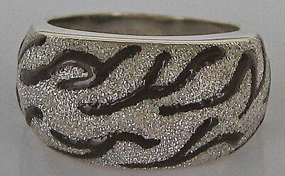 7,6 Gramm ♛ Emaille Ring In Aus 14kt 585 Gold Mit Emaile Schmuck Designer Enamel
