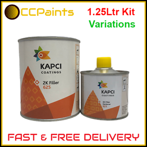 Kapci 1.25L 2K High Build Filler Primer Kit - Various ...