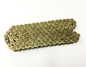 New-Heavy-Duty-Non-O-Ring-Gold-Chain-428H-x-142L-Road-Sports-Motocross