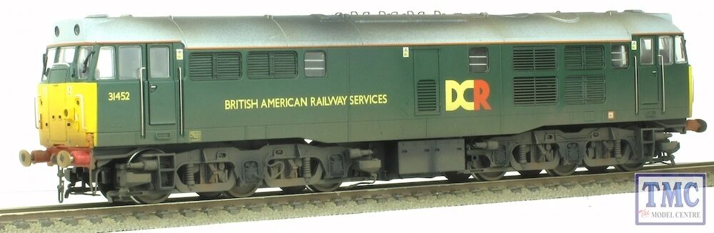R3262 Hornby OO HO British American DCR 31452 Class 31 Loco Weathered by TMC